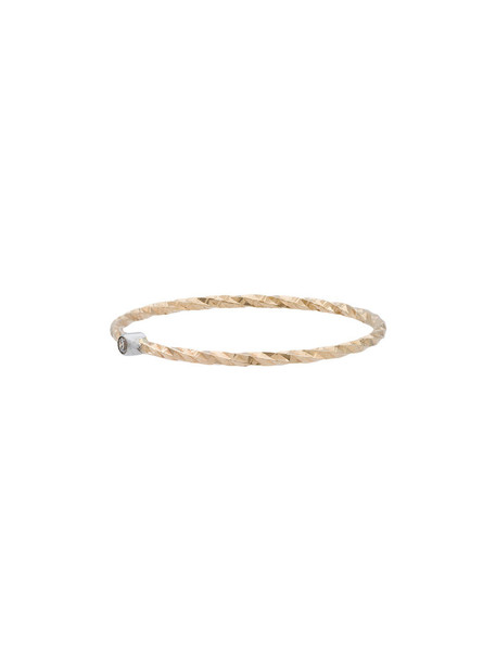 Maria Black women ring gold grey metallic jewels