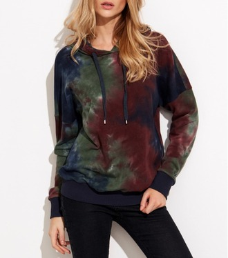 sweater girl girly girly wishlist hoodie tie dye