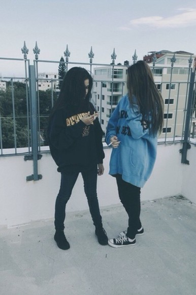 oversized sweater teen hipster girl jumper