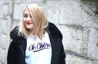 paris grenoble blogger graphic tee white t-shirt