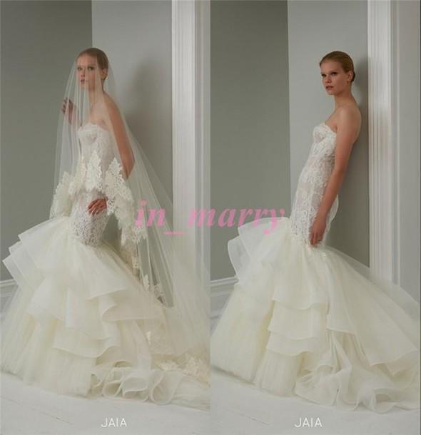 Dress Steven Khalil Mermaid Wedding Dresses Lace Wedding Dress