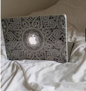 phone cover,black,laptop,pc,stickers,computer,tumblr,apple,white,computer sticker,black and white