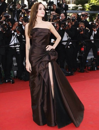 dress black dress angelina jolie