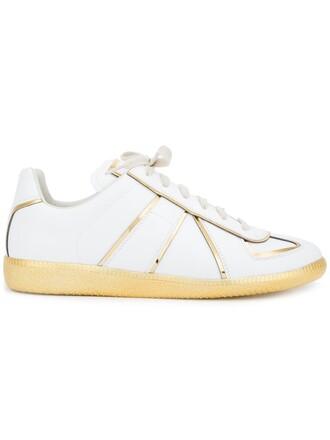 metallic sneakers white shoes