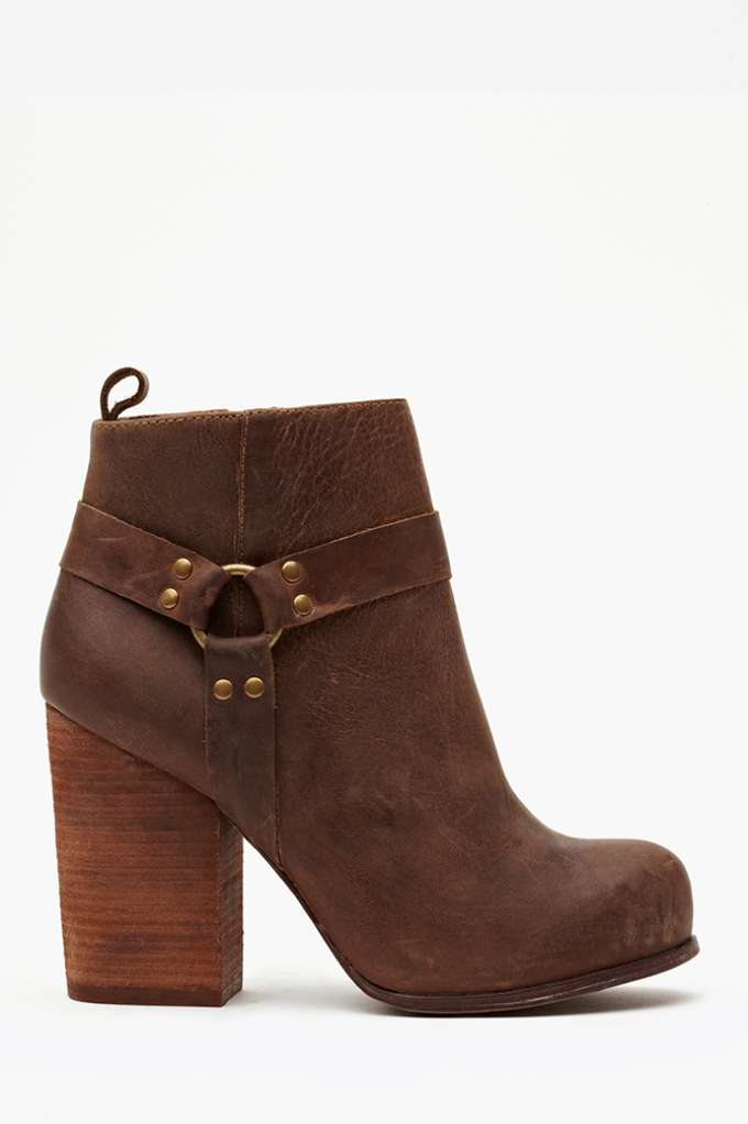 Nasty Gal X Jeffrey Campbell Rum Moto Boot - Brown at Nasty Gal