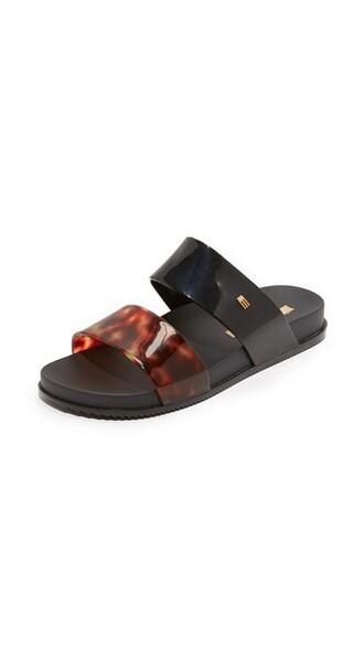 shell black tortoise shell shoes