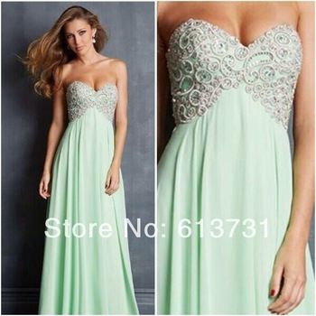 Aliexpress.com : buy women's evening gowns with short sleeves see through crystal beaded chiffon a line long prom dresses 2014 fast shipping jov88174 from reliable dresses brand suppliers on suzhou babyonline dress store