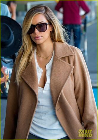 sunglasses shades sunnies kim kardashian shirt