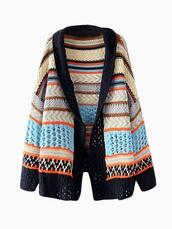 sweater,multicolour wrap,blanket wrap