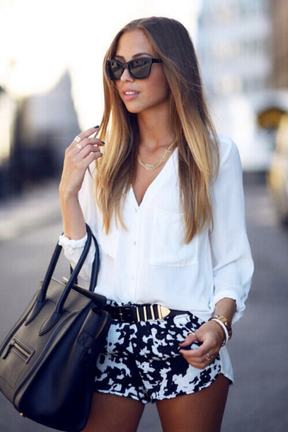 Short Clothes Tumblr Shorts Clothes Girl Outfit