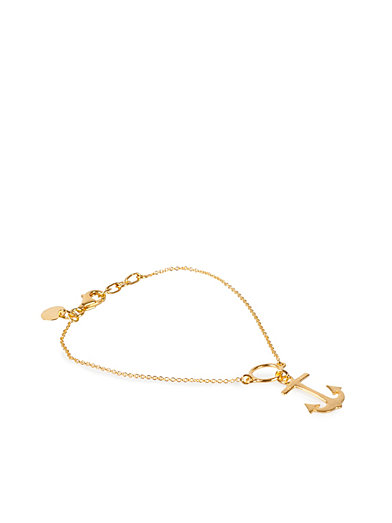 Anchor Bracelet - Syster P - Gold - Jewellery - Accessories - Women - Nelly.com