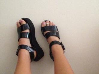 shoes black asos sandals strappy heels drmartens flatforms platform shoes