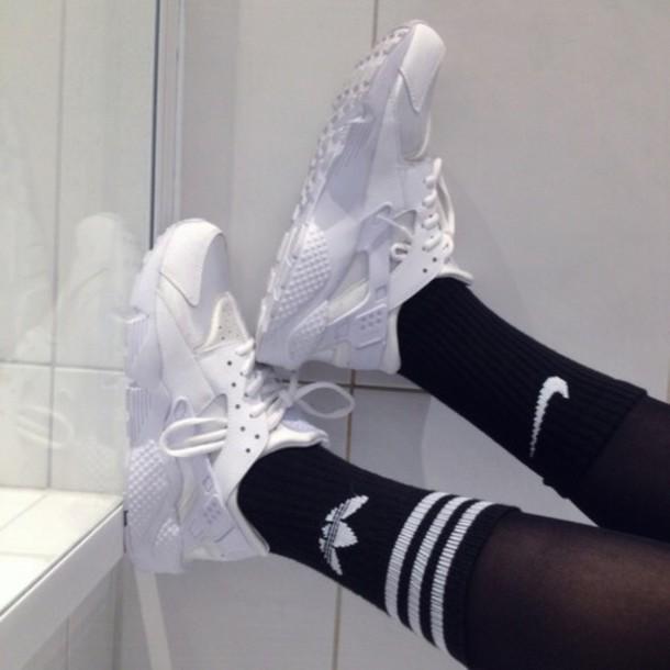 shoes nike huarache white
