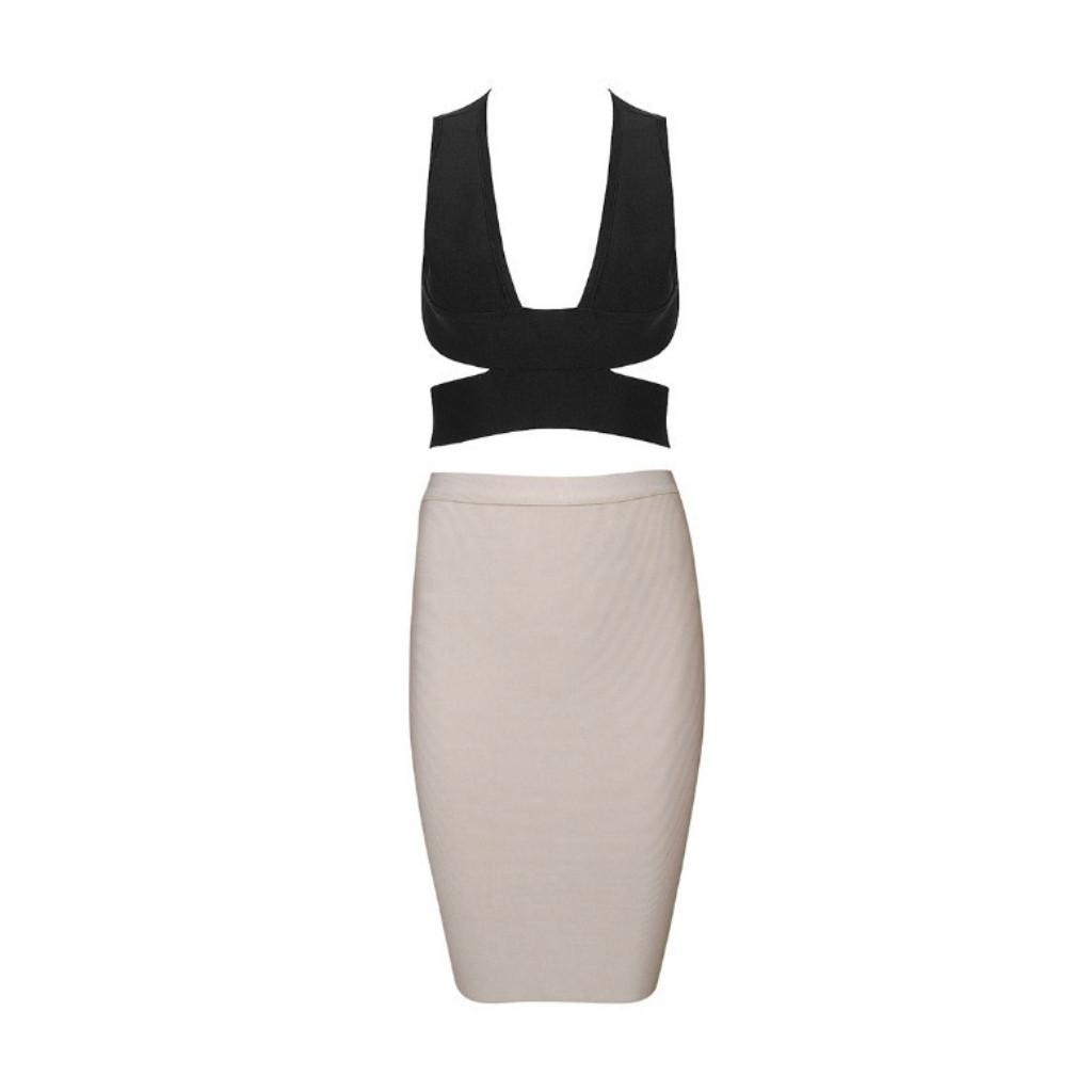 518ba5503f5748 Milan Crop Top - Black – Noodz Boutique
