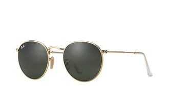 sunglasses chopper flash dark green lookalike rayban copies rounded sunglasses gold metal