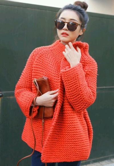 knitwear cardigan red sweater red cardigan knitted cardigan trendy boho boho chic winter sweater winterwear