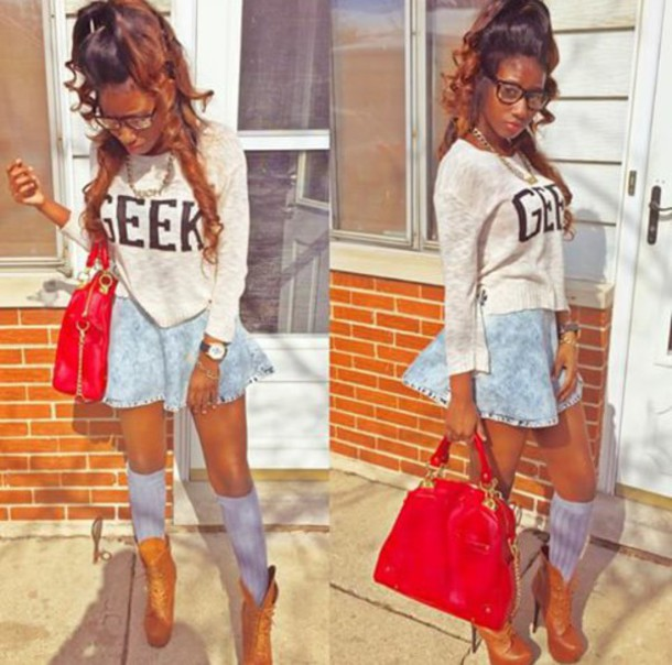 skirt charnaee_ thalonerr birthday behavior chic iced out chi town to miami  bossy $ fall outfits - Skirt: Charnaee_, Thalonerr, Birthday Behavior, Chic, Iced Out