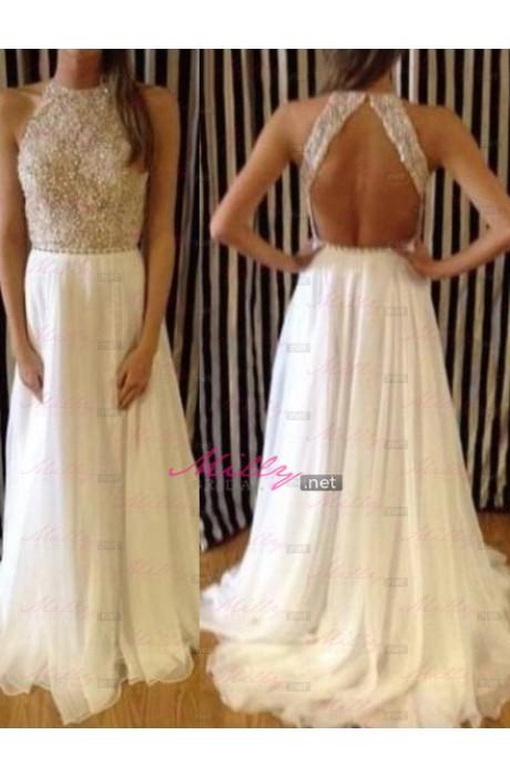 Line prom dress at millybridal.net