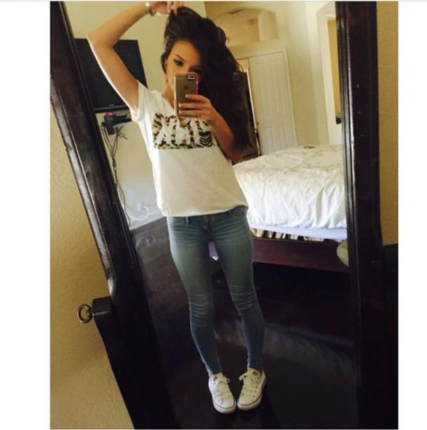 shirt t-shirt jeans phone cover shoes converse