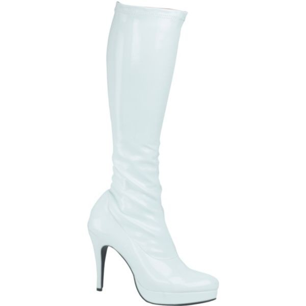white platform boots ariana grande