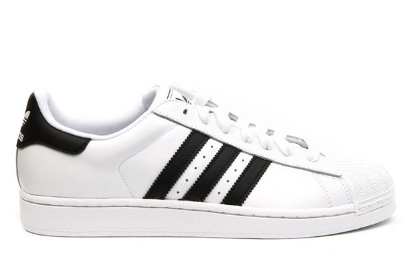 adidas classic black and white sneakers shoes