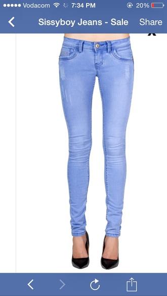 jeans periwinkle skinny