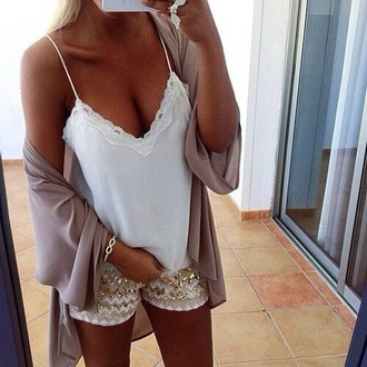 shorts glitter outfit casual party summer sparkle