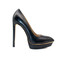 Killer heels - black platform stilettos