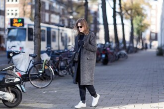 after drk blogger bag sunglasses coat sweater pants shoes