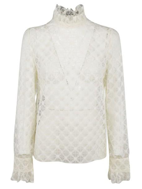 Philosophy di Lorenzo Serafini blouse lace white top