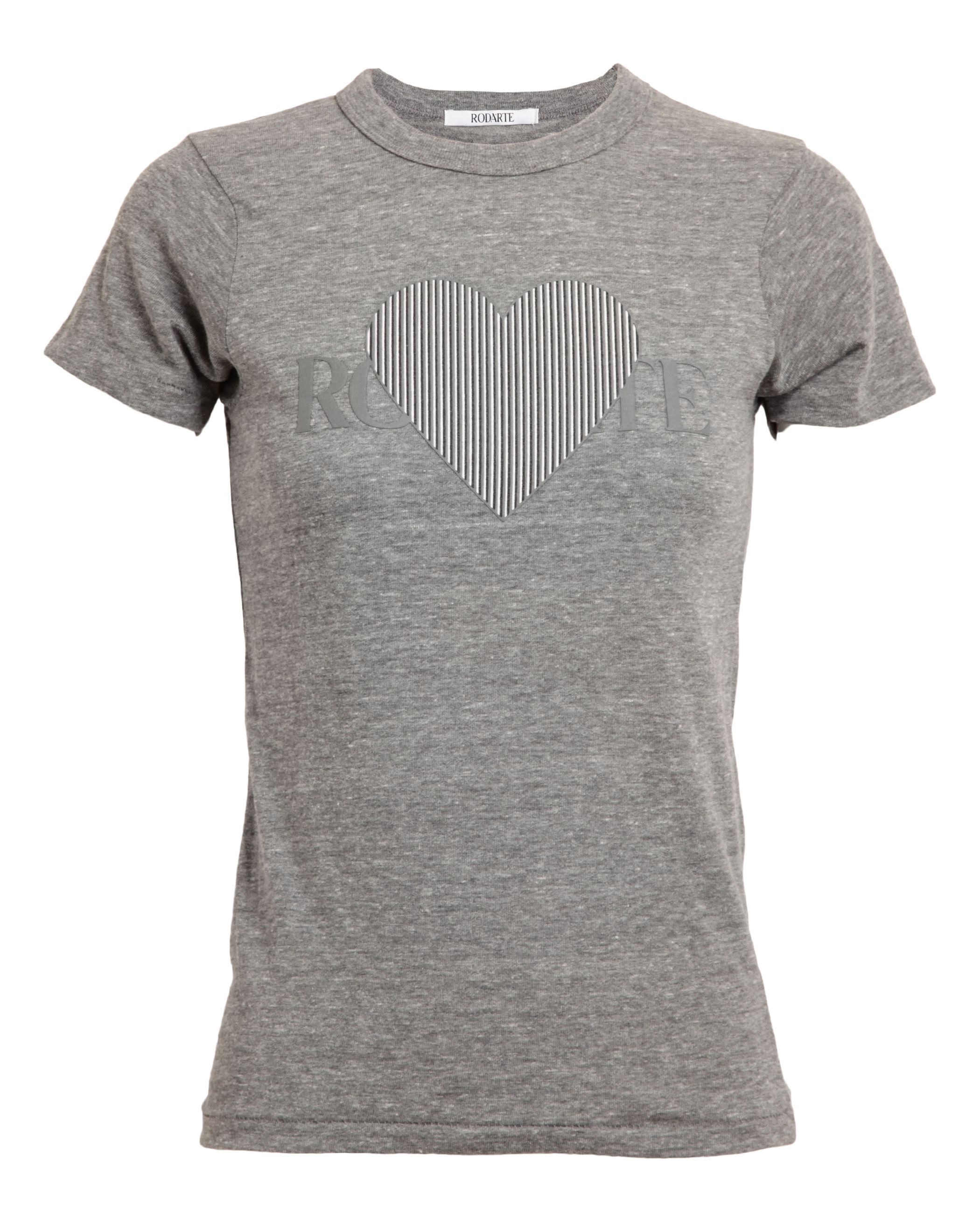 3D Heart Motif T-Shirt