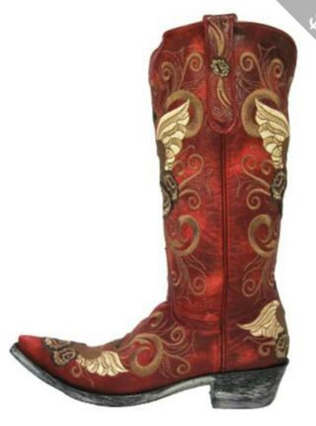 shoes pattern boots cowboy boots beige