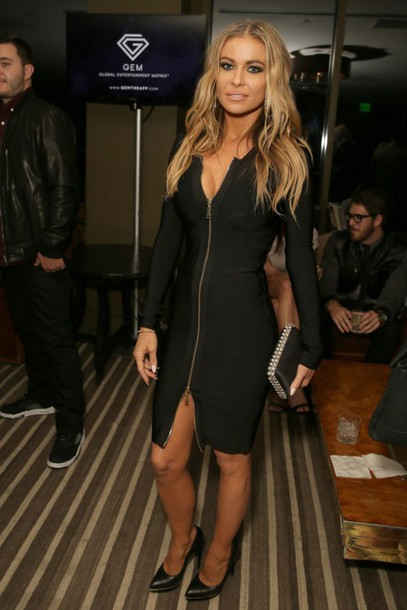 dress carmen electra bodycon dress