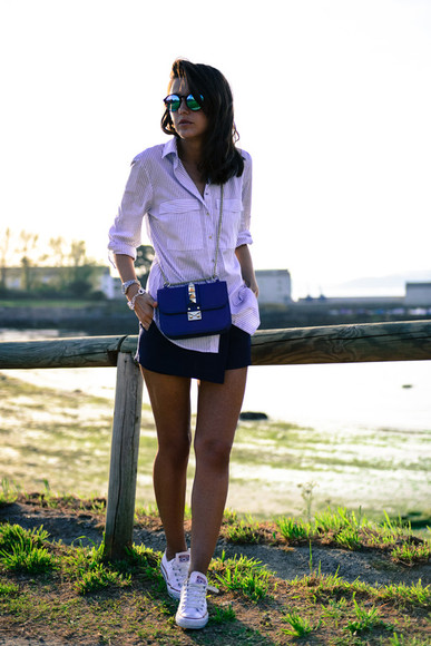 lovely pepa shoes bag sunglasses jewels shorts shirt skirt