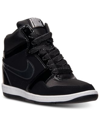 Nike Women's Dunk Sky Hi Essential Casual Sneakers from Finish Line - Finish Line Athletic Shoes - Macy's
