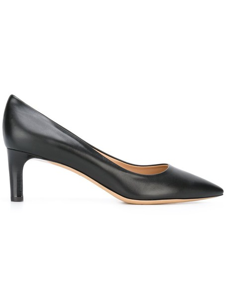 Salvatore Ferragamo women pumps leather black shoes