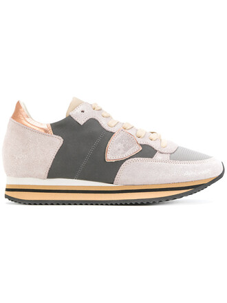 women sneakers cotton suede grey shoes