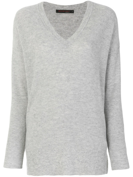 Incentive Cashmere sweater women grey