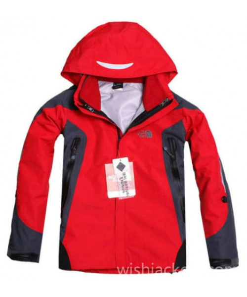 North Face Canada Womens Gore Tex Jacket Red Bj130252