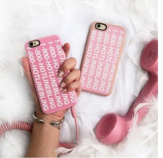 phone cover girly pink iphone cover iphone case hotline bling casetify light pink