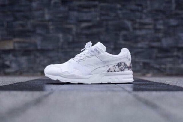 shoes puma sneakers white sneakers