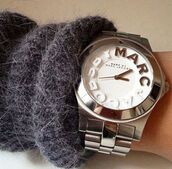 jewels,marc jacobs watch,silver marcjacobs watch,watch,marcjacobs,silver,white,marc jacobs,watch marc jacobs,watch silver,silver jewelry,silver and white,jacobs by marc jacobs,marc by marc jacobs,silver watch,silver white watch marc jacobs