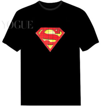 t-shirt superman black t-shirt tee shirt