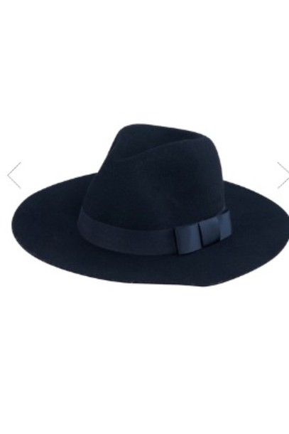 hat black fedora