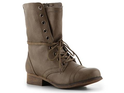 Madden girl gamer combat boot women's ankle boots & booties women's boot shop