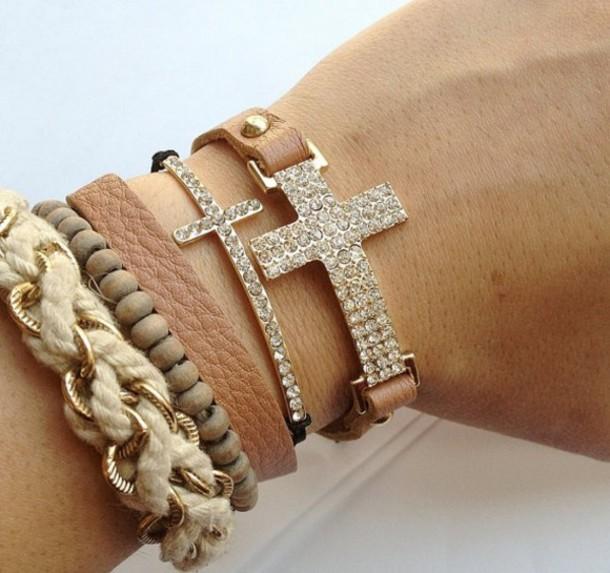 Jewels, love, arm candy, bracelets, nude, diamonds