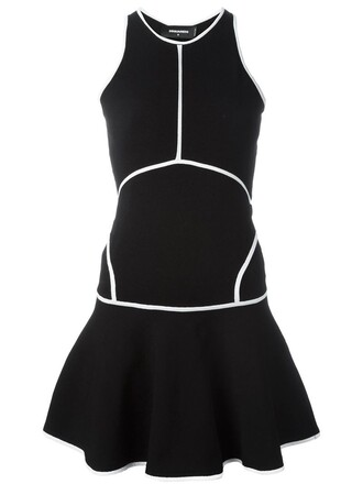 dress mini dress mini racerback black