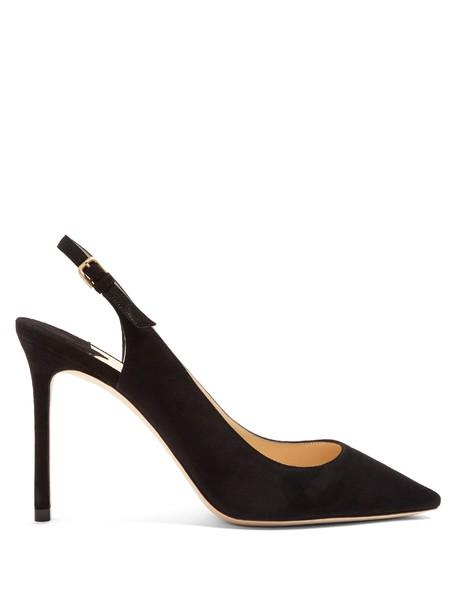 Jimmy Choo pumps suede black shoes