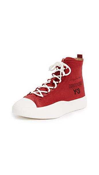 Y-3 sneakers white black shoes
