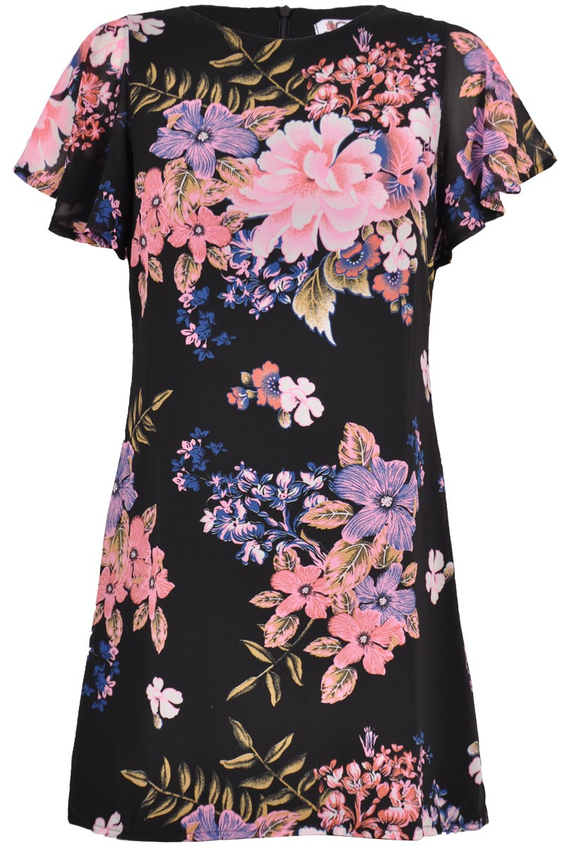 WALG MIDNIGHT GARDEN FLORAL DRESS | WALG FLORAL DRESSES